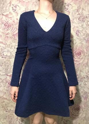 Платье love republic синее xs s