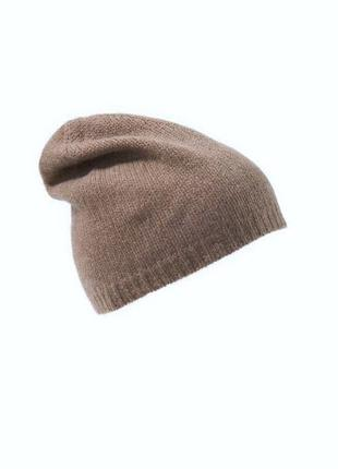 Шерстяная ангоровая шапка h&m /4614/