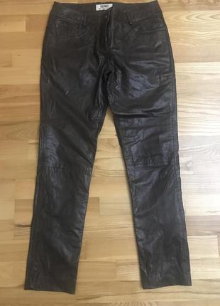 Шкіряні брюки