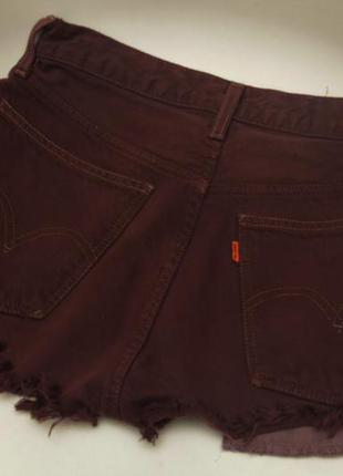 Levis orange tab рр s винтажные шорты в стиле панк-рок