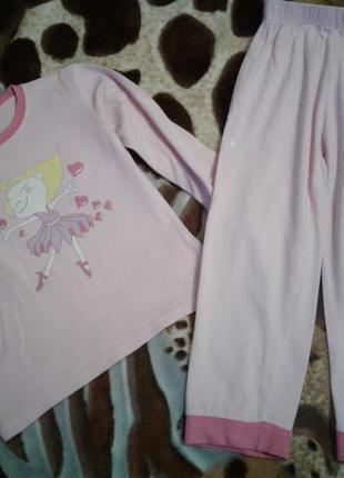 Пижама девочке хлопок 3-5лет