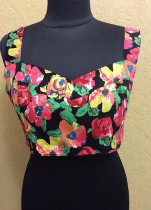 Топ/бралет/блуза р.m-l стильный и качественный
