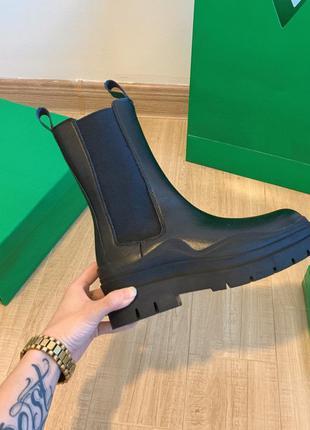 Сапоги ботинки в стиле боттега венета bottega veneta ботега