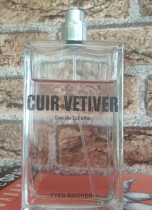 Cuir vetiver yves rocher 100 ml или обмен