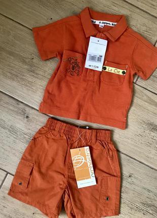Костюм фирменный набор комплект для мальчика футболка