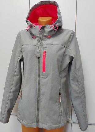 Крутая куртка софтшелл superdru р. 44-46 (12/40) оригинал