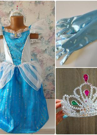 Платье принцессы,золушка, попелюшка, карнавальный костюм,маскарадный