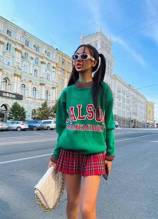 Женский яркий свитер 🍁❄️ 2021