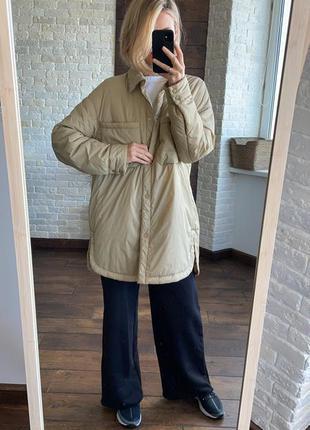 Сорочка-куртка zara
