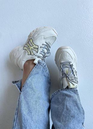 Шикарные женские кроссовки new york yankees x disney