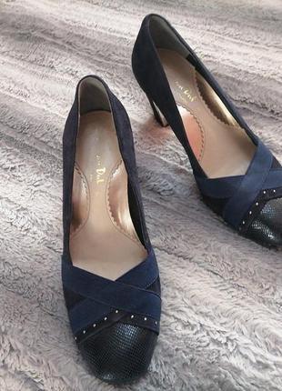 Очень красивые туфли на устойчивом каблуке