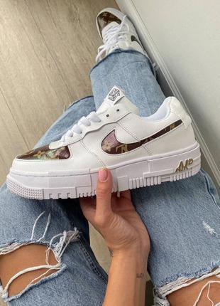 Nike air pixel x lv кроссовки женские белые