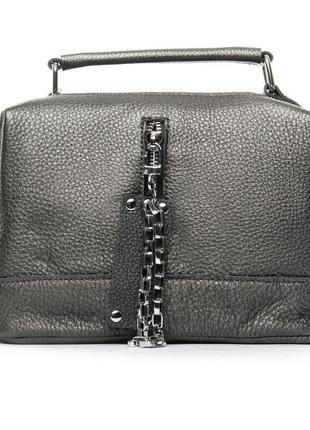 Женская сумочка изготовлена из натуральной мягкой кожи