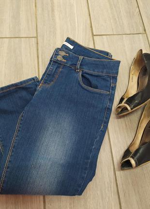 Укороченные джинсы 💙👣
