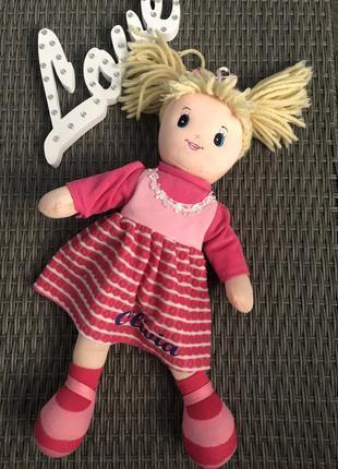 Мягкая кукла оливия