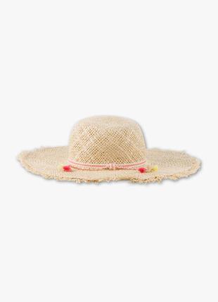 Шляпа классика классическая полями плетеная соломенная летняя море соломка подарок
