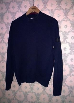 Мужской пуловер джемпер кофта свитер barbour international