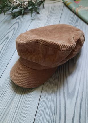 Женская трендовая шапка кепи картуз кашкет