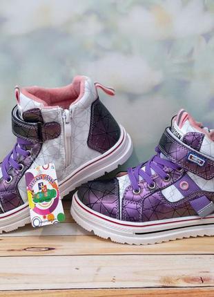 Демисезонные ботинки для девочки 28-32 jong-golf c213