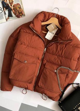 Новая обалденная куртка пуффер oversize (дутик)