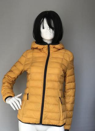 Модная пуховая куртка tom tailor размер м