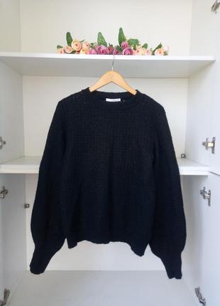 Мохер теплый зимний свитер