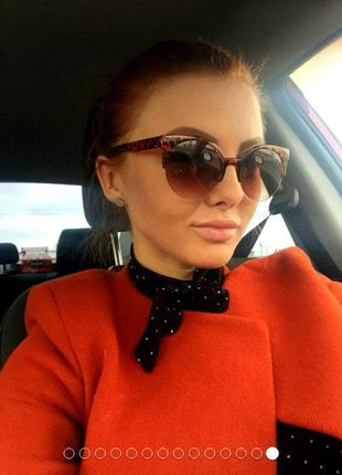 Роскошные женские солнцезащитные очки!