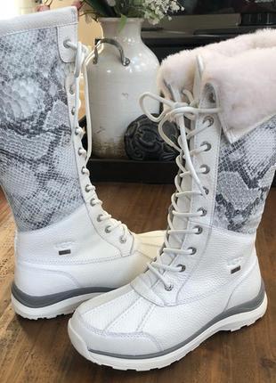 Зимние сапоги ugg australia.adirondack tall iii snake snow boot.    оригинал
