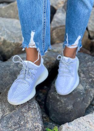 Кроссовки adidas 350 v2 static reflective полный рефлектив кросівки