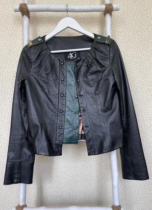 Кожаная куртка кожа натуральная оригинал шкіряна шкіра gizia