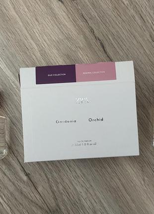 Zara парфюм набор