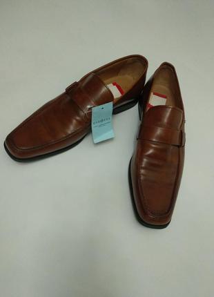 Новые классические кожаные туфли люкс качество 45 размера