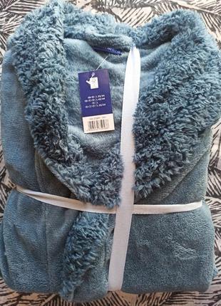 Шикарный подарок мужской халат miomare германия в упаковке l(52-54)