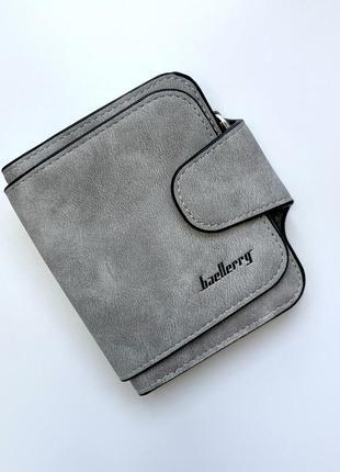 Кошелек baellerry forever mini балери форевер мини светло серый