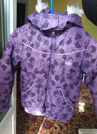 Курточка для дівчинки finry girl