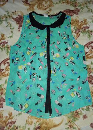 Шифонова блузка george 20 розмір