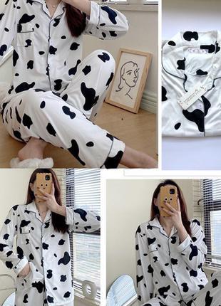 Стильная пижама трендовый принт!