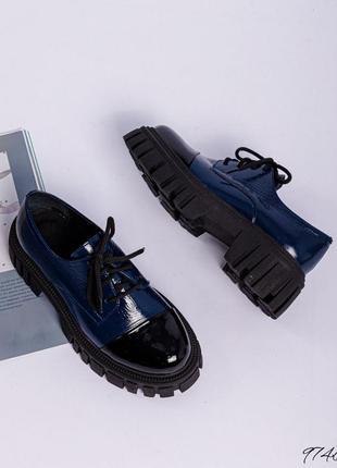 Туфли кожа шнуровка