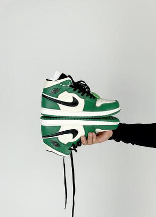 Nike air jordan retro 1 женские кроссовки живые фото