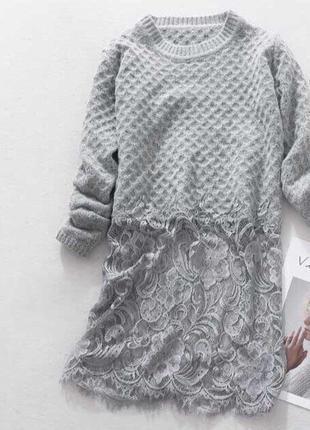 Длинный свитер