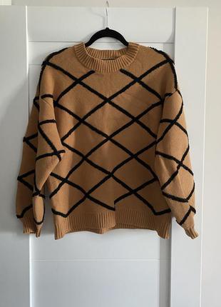 Джемпер, свитер в орнамент