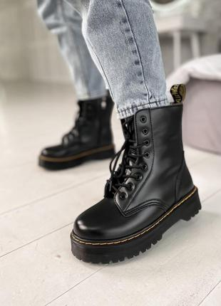 Женские осенние ботинки dr. martens jadon