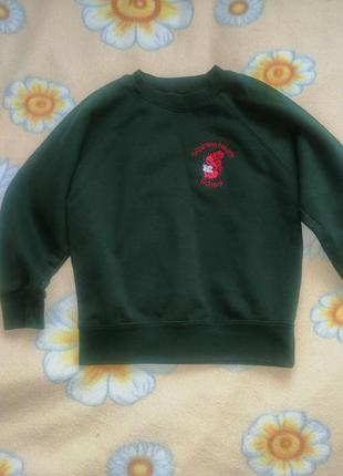 Утепленный свитер реглан