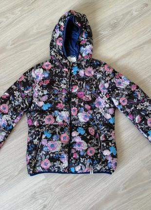 Куртка rinascimento м-l двусторонняя цветы силикон