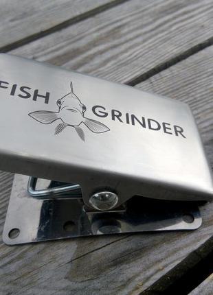 Зажим для чистки рыбы fish grinder