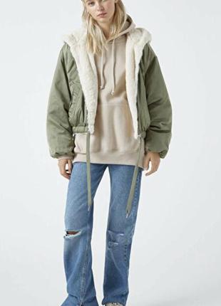 Куртка двобічна pull&bear xs