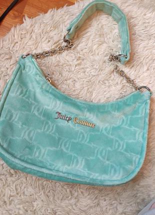 Мягентька  сумка juicy couture