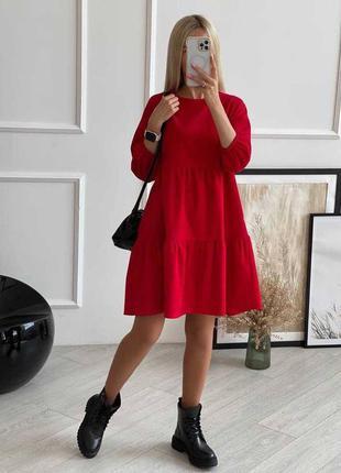 Шикарное платье микровильвет