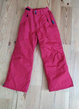 Лижні зимові штани/ лижний напівкомбінезон thinsulate