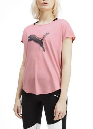 Женская футболка puma оригинал из свежих коллекций.